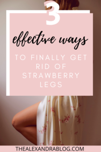 how to get rid of strawberry skin