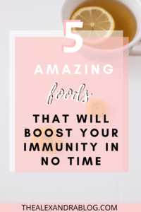 how to boost your immune system pin for pinterest