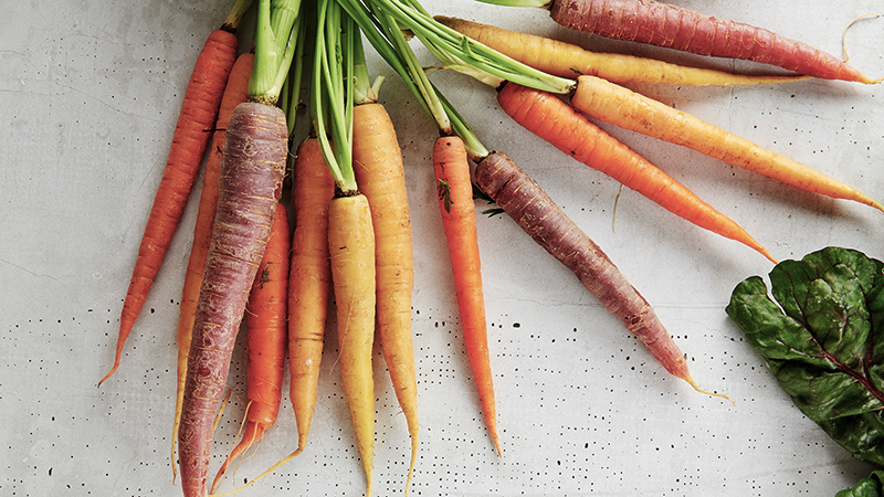 one of the best healthy foods carrots