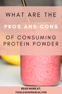 protein powder pros and cons protein powder alternatives pin for pinterest