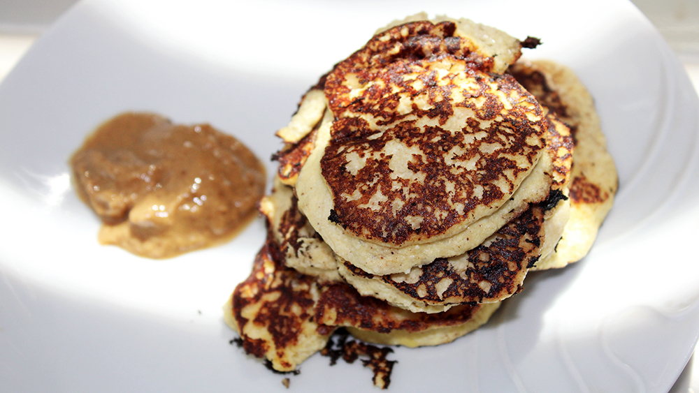 high protein low calorie breakfast healthy pancakes