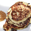 high protein low calorie breakfast pancakes featured image