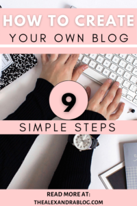PIN FOR PINTEREST ON HOW TO START A BLOG