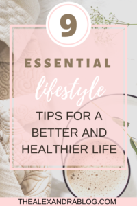 pin for pinterest on how to live a healthy lifestyle