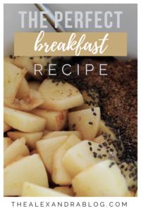 apple banana oatmeal recipe pin for pinteres